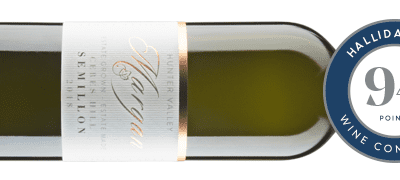 HALLIDAY AWARDS 94 POINTS TO MARGAN WHITE LABEL CERES HILL SEMILLON