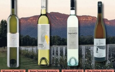 FOUR HUNTER WINES THAT PERFECTLY SUIT LAZY DAYS AT THE BEACH OR PICNICS IN THE PARK